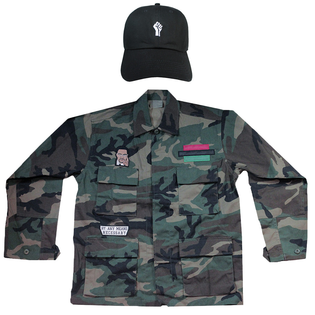Malcolm X Bundle (Jacket + Cap)