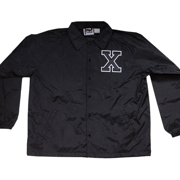X Windbreaker - The Carter Brand - Black By Popular Demand - Rooting For Everybody Black - Black Pride Apparel