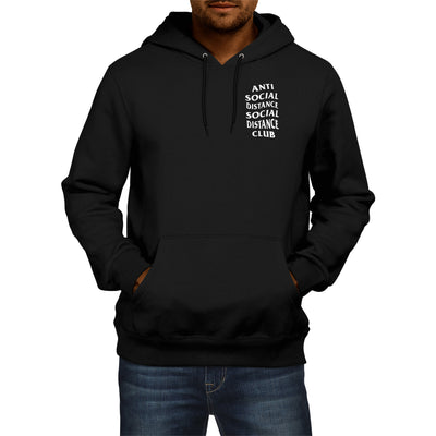 Social Distance Hoodie - The Carter Brand - Black By Popular Demand - Rooting For Everybody Black - Black Pride Apparel