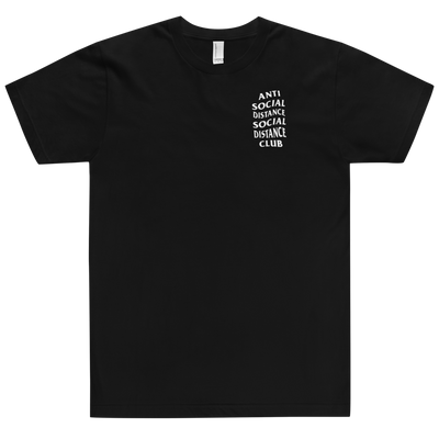 Social Distance Unisex T-Shirt - The Carter Brand - Black By Popular Demand - Rooting For Everybody Black - Black Pride Apparel