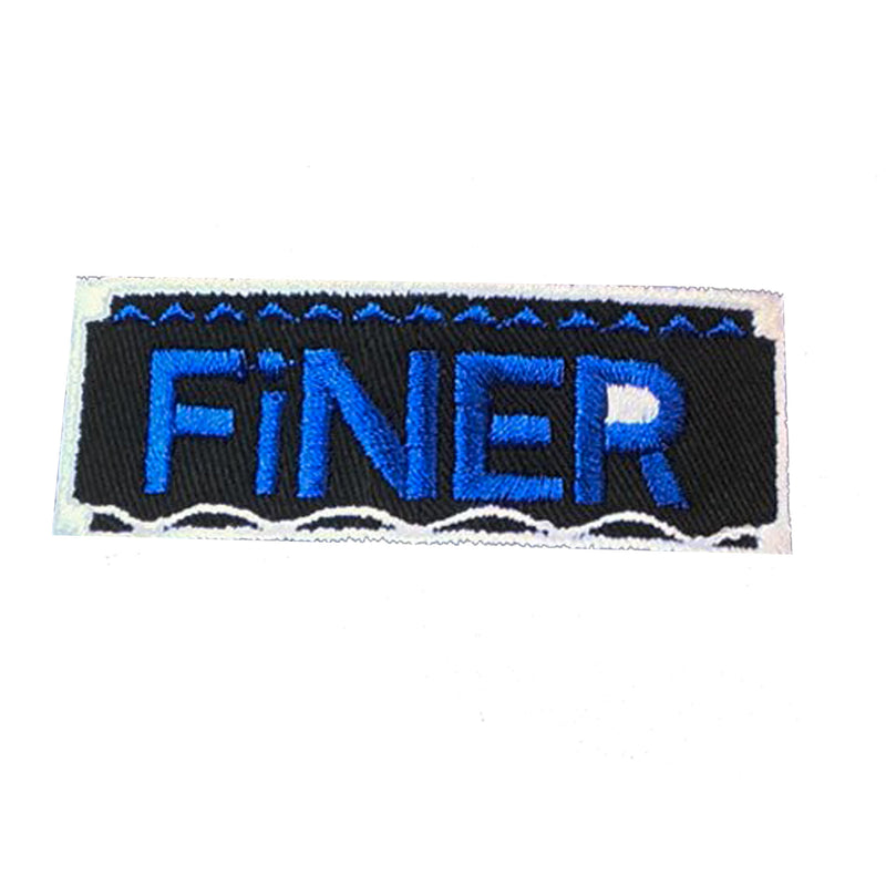 Finer Retro Patch - The Carter Brand - Black By Popular Demand - Rooting For Everybody Black - Black Pride Apparel