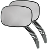 Billet-Style Rectangular Mirror