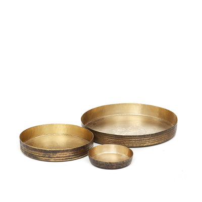 W6278 Brass Dish Set