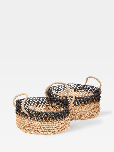 Lombok Paper Basket Set