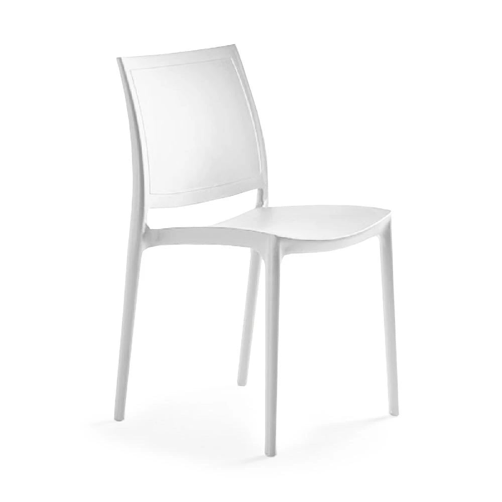 P'kolino Luna Modern Chair - White