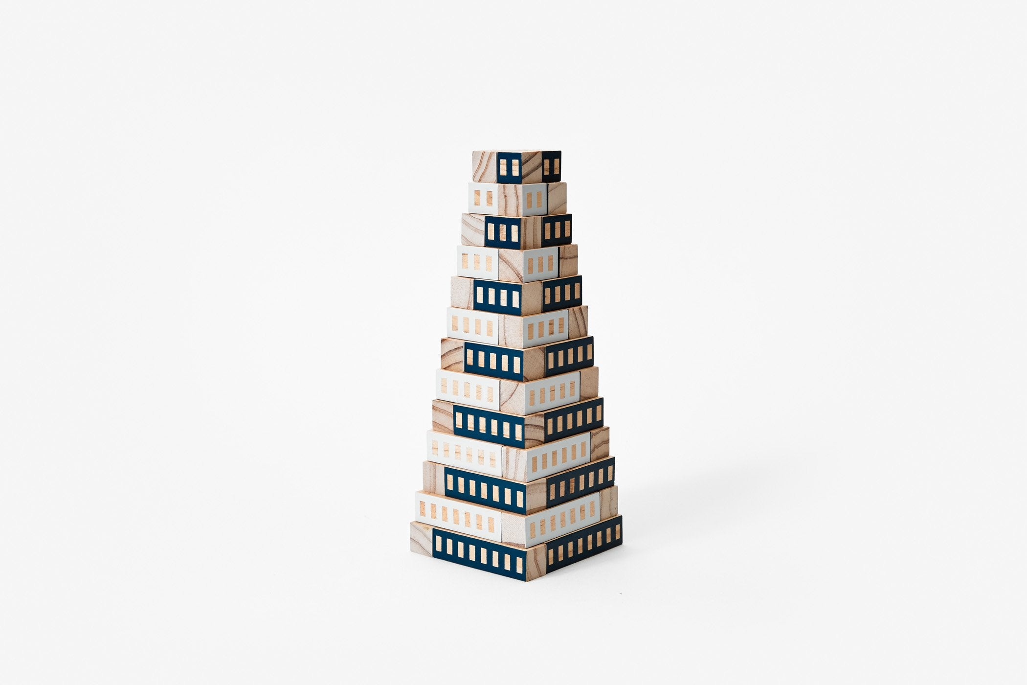 Areaware Blockitecture Tower - Blue