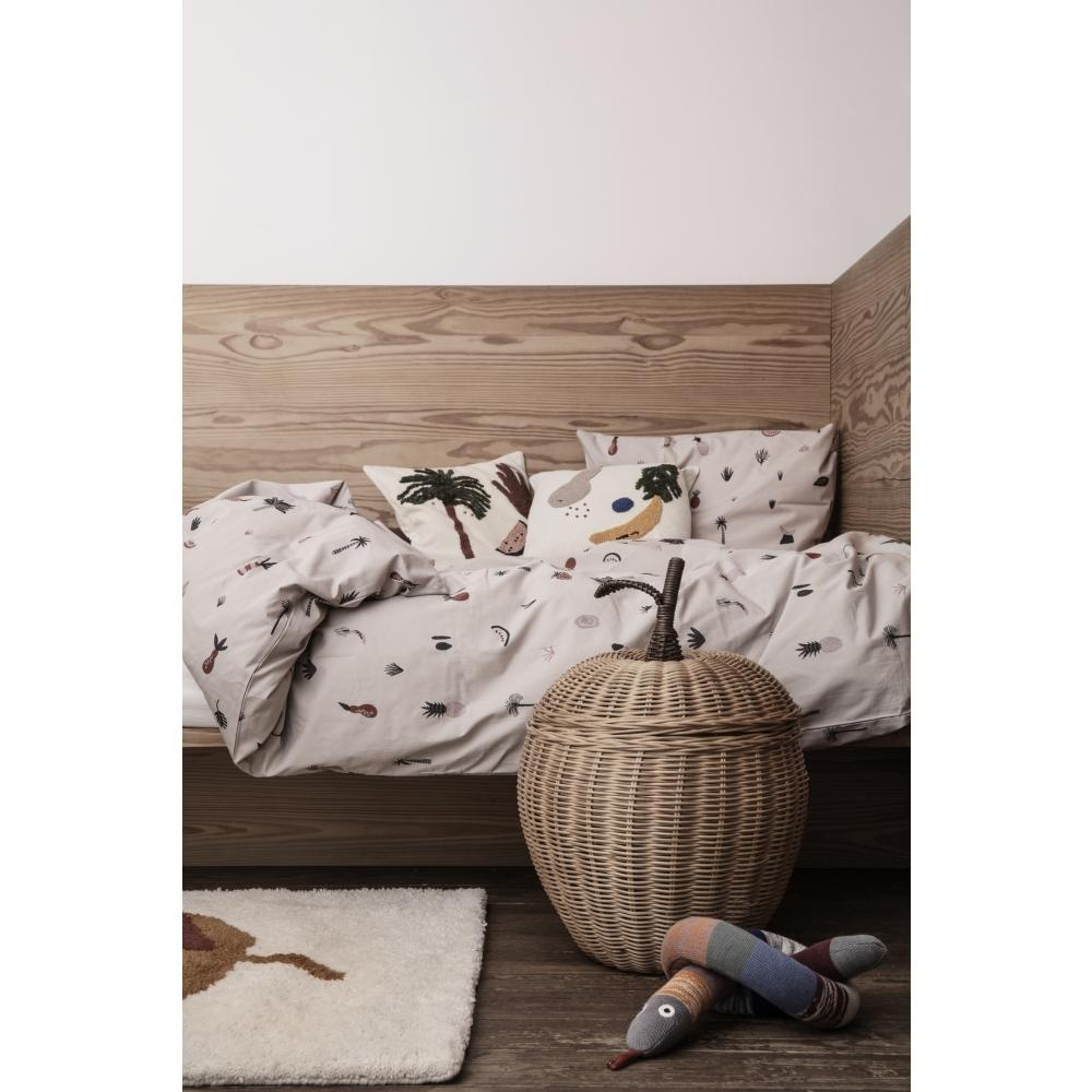 Ferm Living Kids Apple Braided Storage Basket
