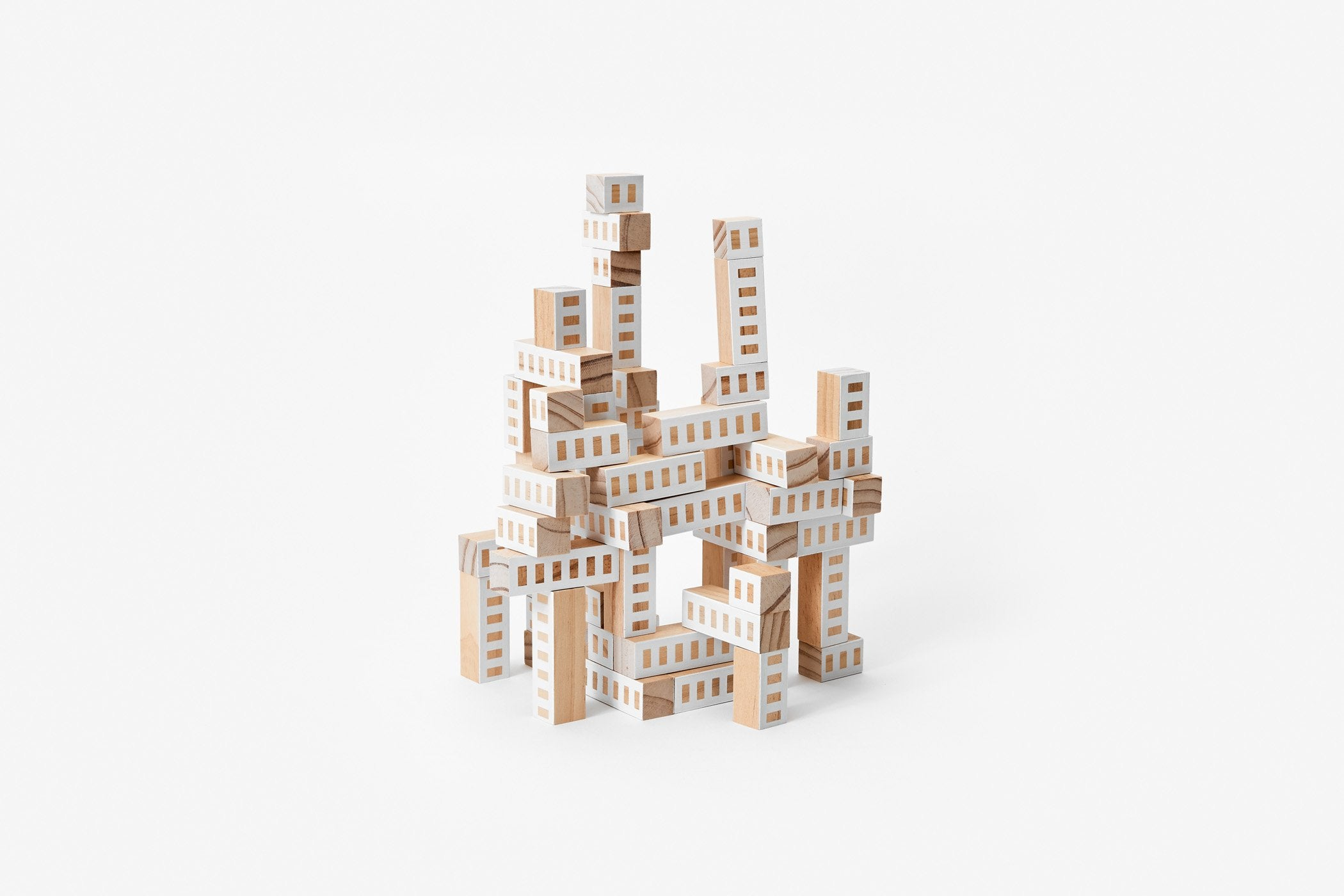 Areaware Blockitecture Tower - White