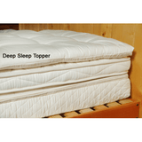 Quilted Crib Wool Mattress Topper