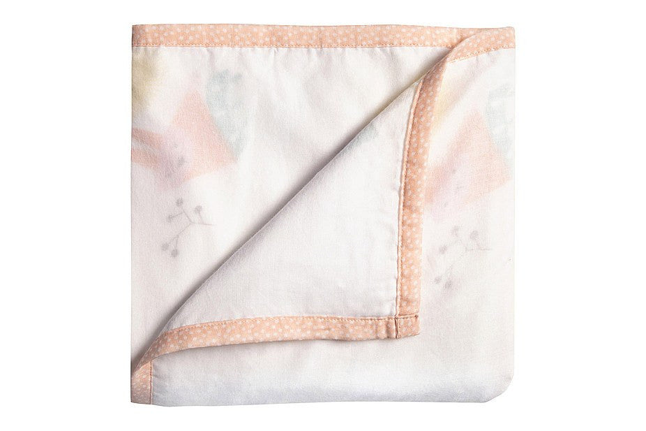 Nursery Works Menagerie Organic Muslin Blanket