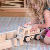 Guidecraft Wooden Fire Truck