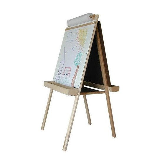 Heirloom Adjustable Easel - Natural Wood Tray