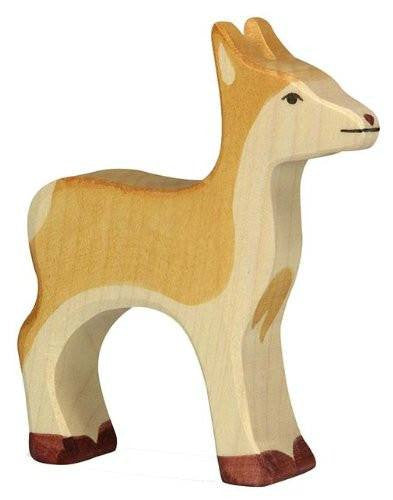 Holztiger Wooden Standing Deer - fawn&forest