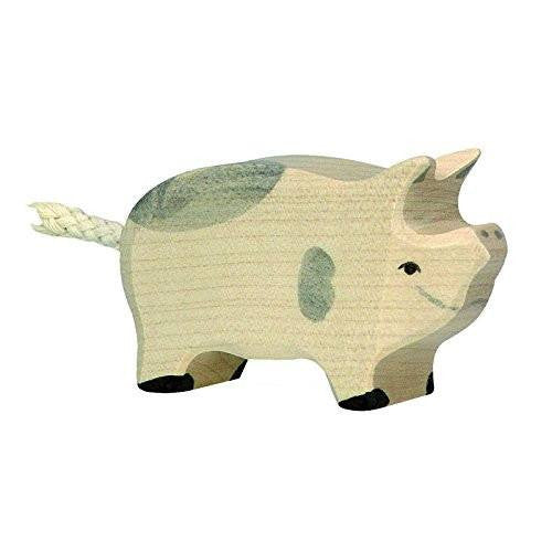 Holztiger Wooden Dappled Piglet - fawn&forest