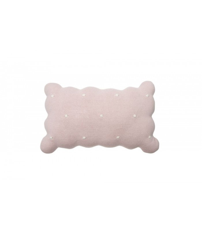 Lorena Canals Knitted Cushion Biscuit