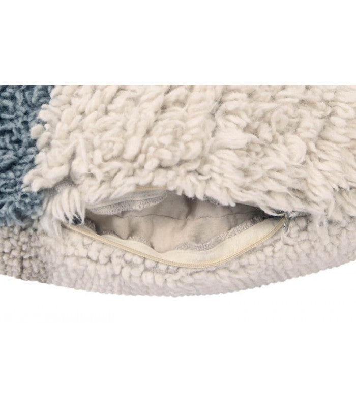 Lorena Canals Woolable Floor Cushion Sun Rays