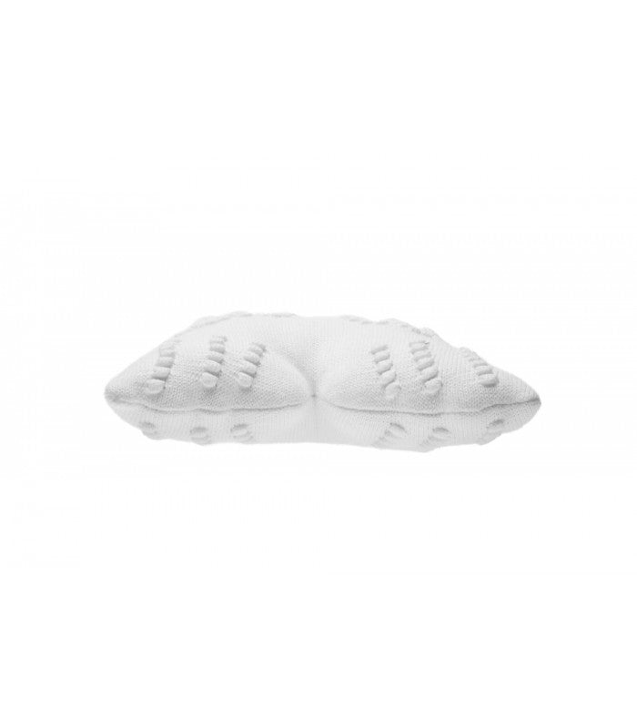 Lorena Canals Knitted Cushion Angel Wings