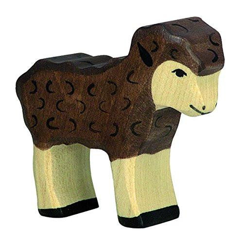 Holztiger Wooden Black Lamb - fawn&forest