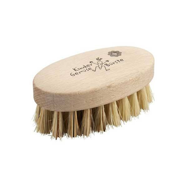 fawn&forest Natural Bristle Veggie Brush - fawn&forest