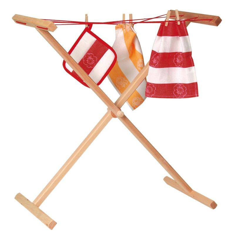 fawn&forest Wood Clothes Horse - fawn&forest