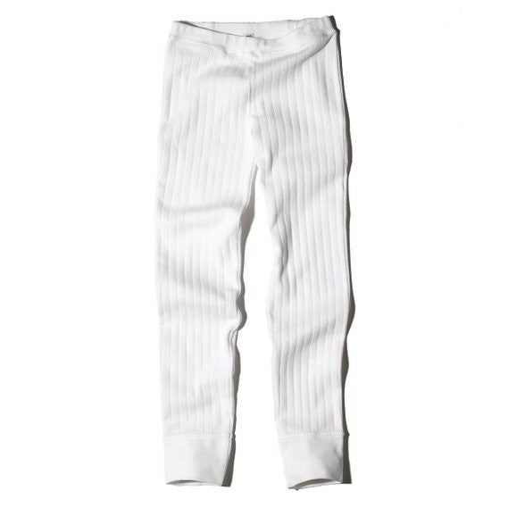 Goat-Milk Goat-Milk Girls Drop Needle Thermal Bottoms - fawn&forest