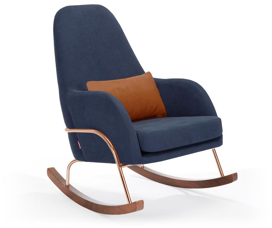 Monte Jackson Rocker - Navy Blue