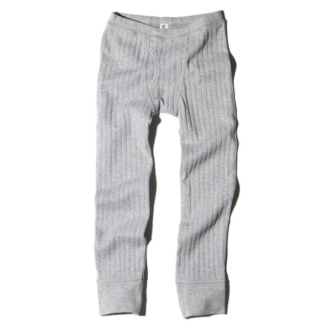 Goat-Milk Boys Dropneedle Thermal Bottoms - Heather Grey