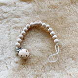 Natural Wood Paci Clip