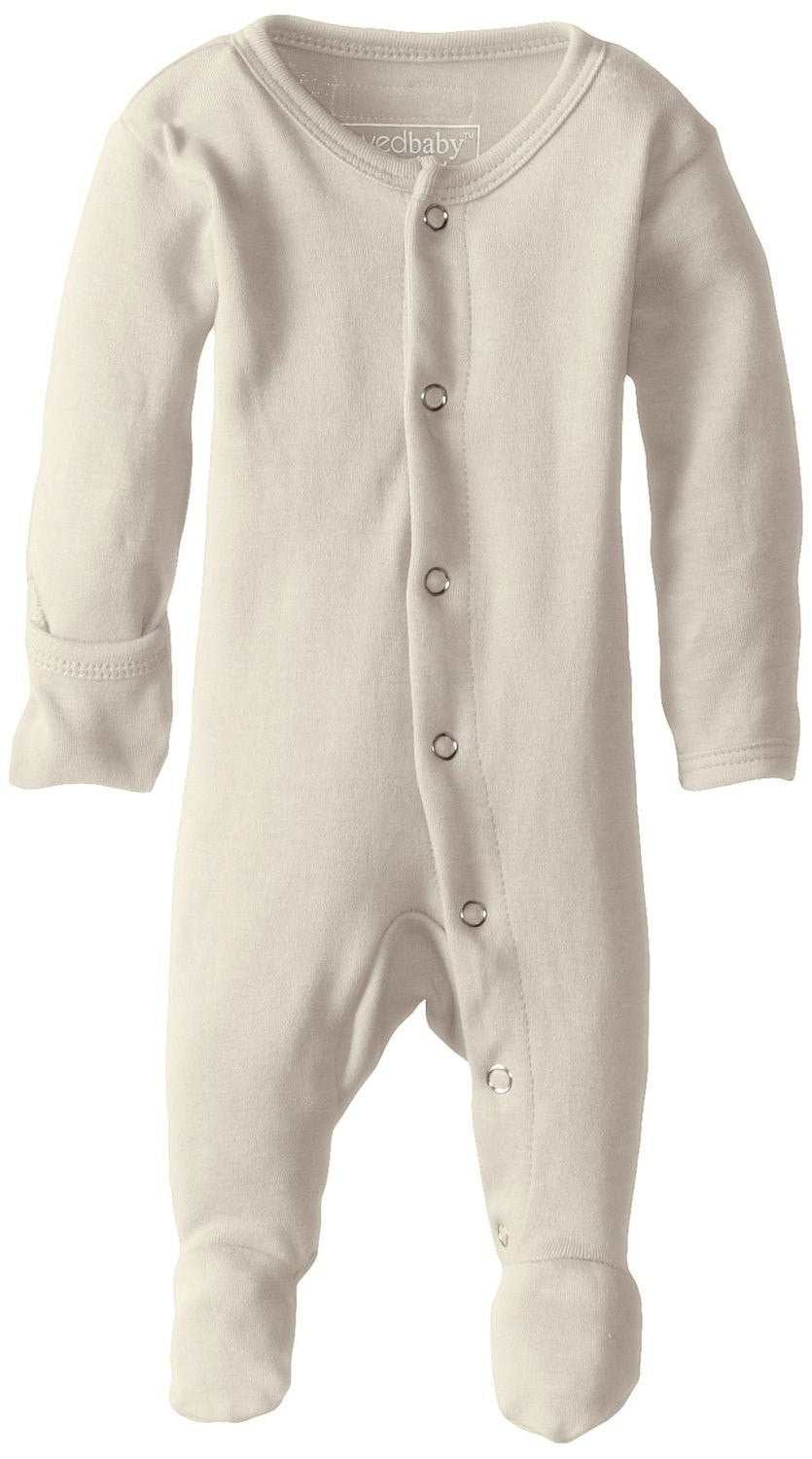 fawn&forest Organic Gl'ovedbaby Sleeve Overall - Natural Beige - fawn&forest