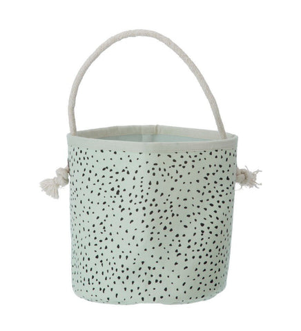 Ferm Living Mint Dot Basket
