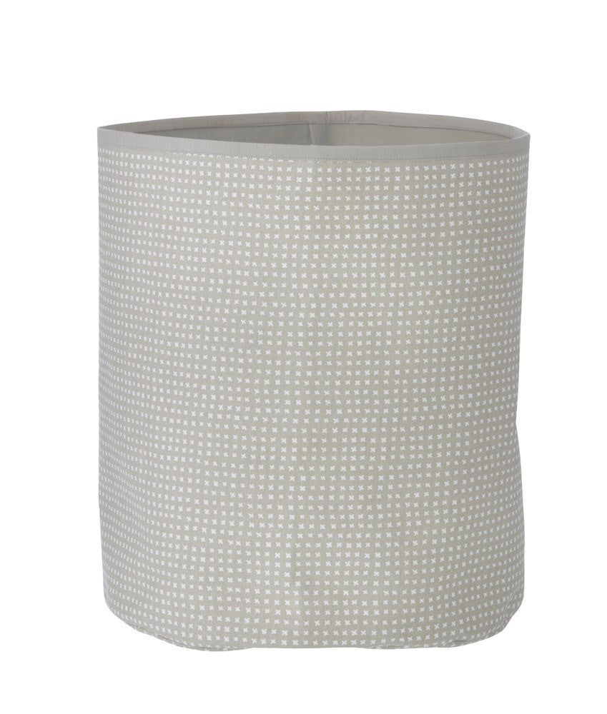 Ferm Living Grey Cross Basket