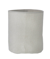 Ferm Living Ferm Living Grey Cross Basket - fawn&forest