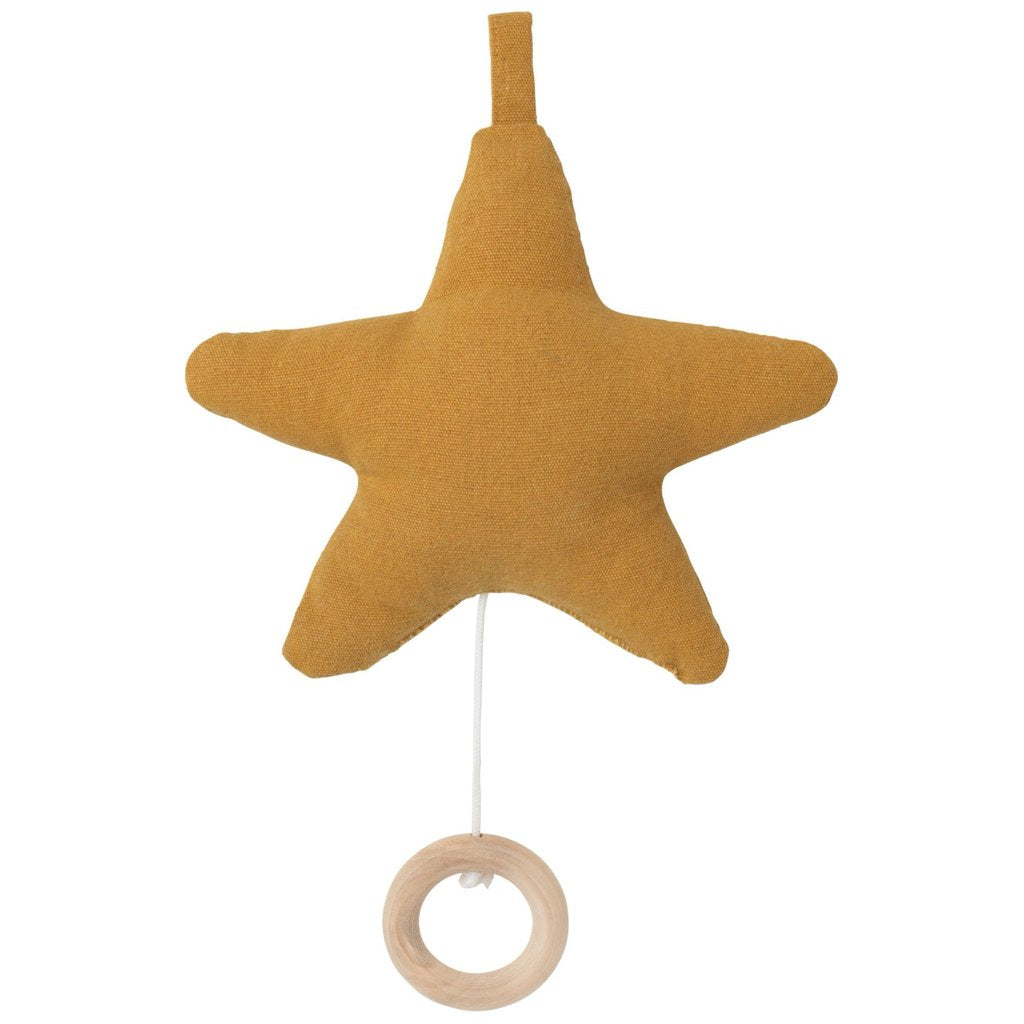 Ferm Living Kids Star Music Mobile - Mustard
