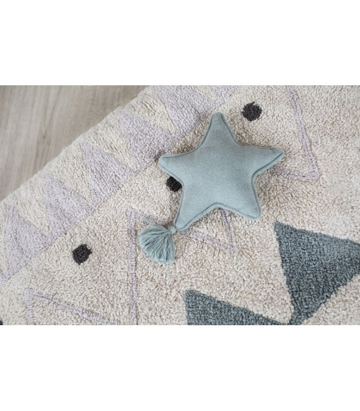 Lorena Canals Knitted Cushion Twinkle Star
