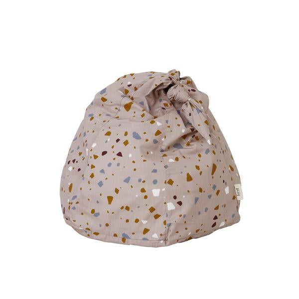 Ferm Living Kids Bean Bag - Terrazzo Rose