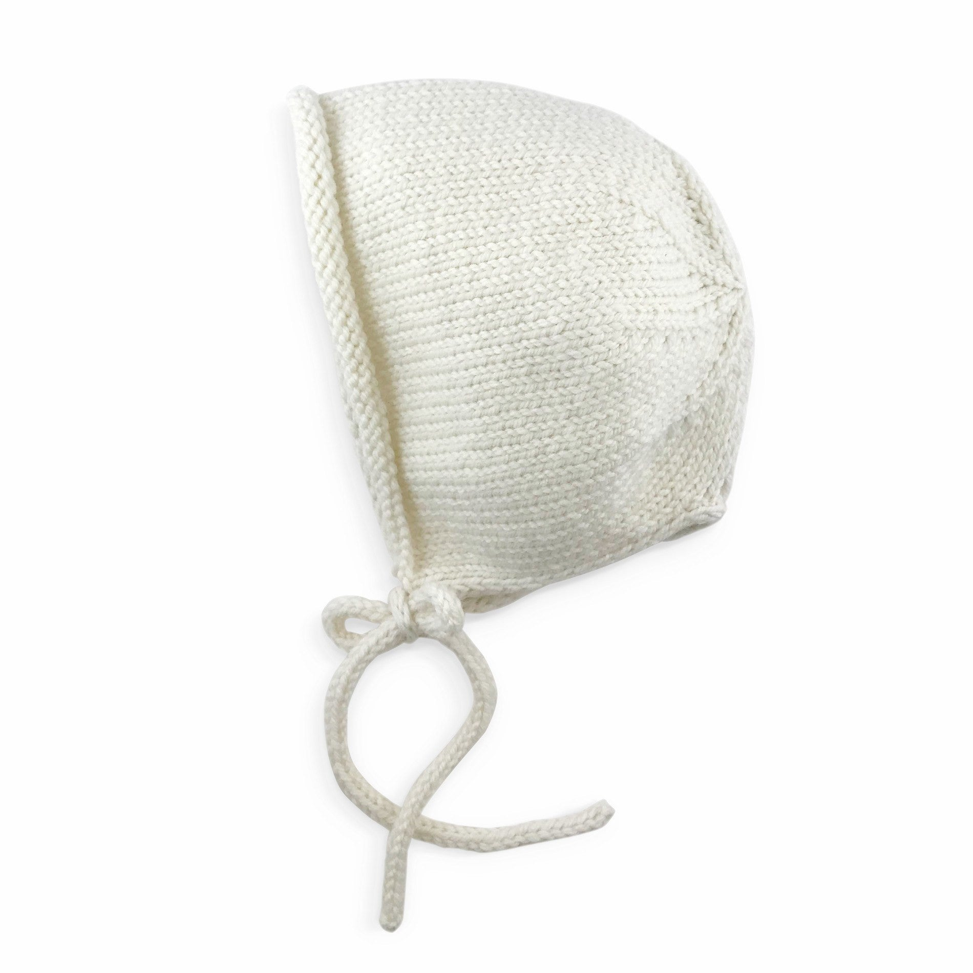 fawn&forest Knit Brynlee Bonnet - Egret - fawn&forest