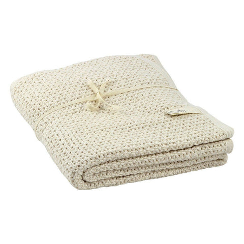 fawn&forest Fog Linen Baby Blanket - fawn&forest