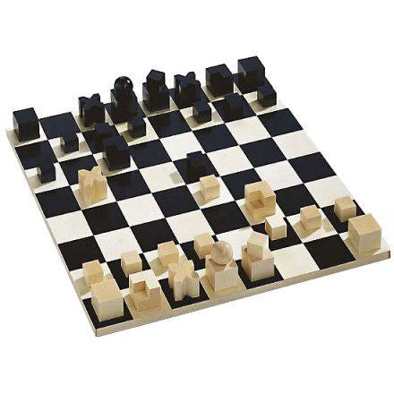 Naef Bauhaus Chess Set & Board