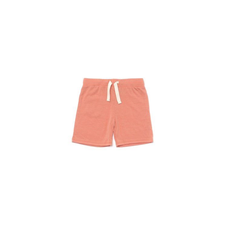 Merino Wool Boy Shorts - Ocean Blue