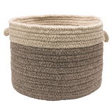 Colonial Mills Chunky Natural Wool Dipped Basket