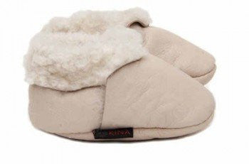 Kina Lamb Booties - fawn&forest
