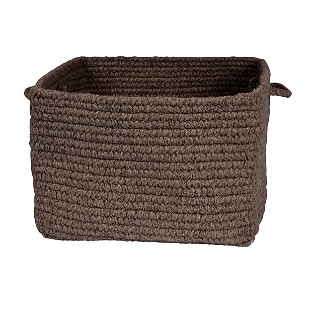 Colonial Mills Chunky Natural Wool Basket