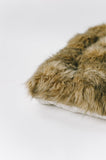 E & E Teepee: Fox Faux Fur Mattress