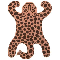 Ferm Living Kids Safari Tufted Rug - Leopard