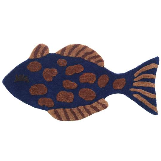 Ferm Living Kids Tufted Wall/Floor Deco - Fish