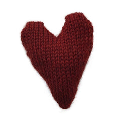 fawn&forest Knit Wool Heart - fawn&forest