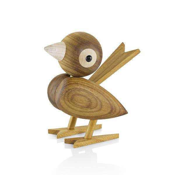 Ferm Living Wood Sparrow Family - fawn&forest