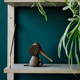 Ferm Living Wood Elephant - fawn&forest