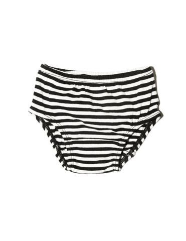 Goat-Milk Striped Diaper Cover