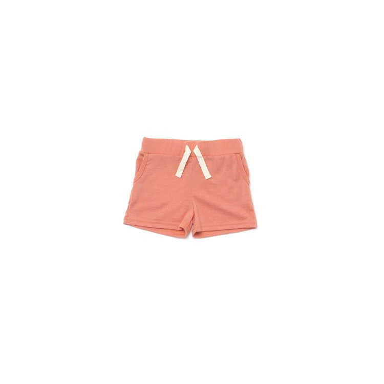 Merino Wool Girl Shorts - Soft Grey